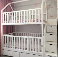 Кровать двухъярусная Домик Малинка Standard
