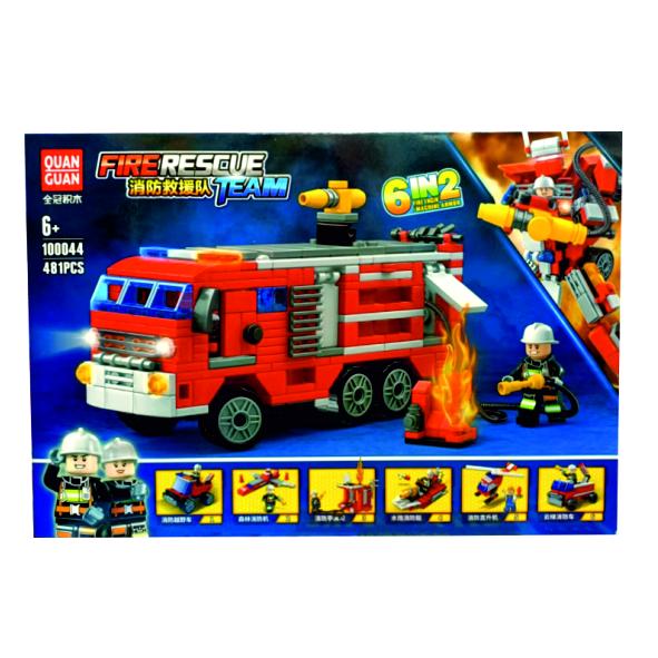 Блокформерс Firebot Пожарный расчет