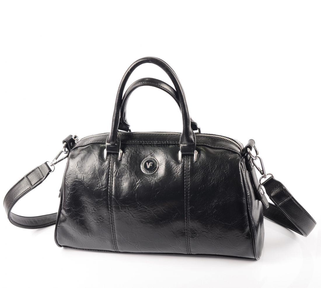 Классическая женская сумка (чёрная)