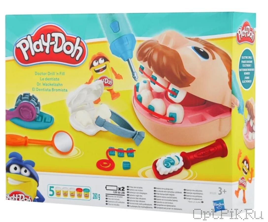 Игровой набор пластилина Play-Doh Мистер Зубастик
