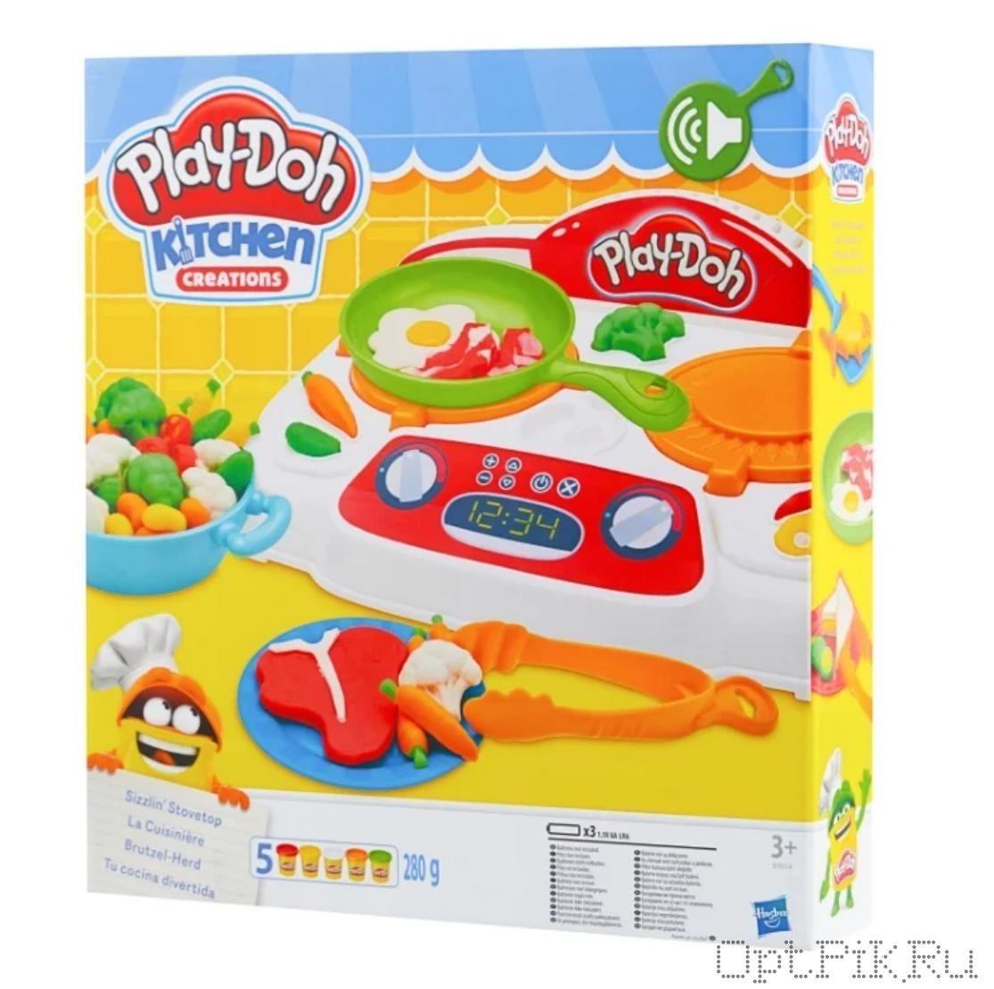Игровой набор пластилина Play-Doh Кухня