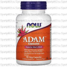 Now Foods, ADAM, превосходные мультивитамины для мужчин, 90 вегетарианских капсул