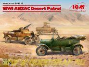 Пустынный патруль ANZAC (Model T LCP, Utility, Touring)