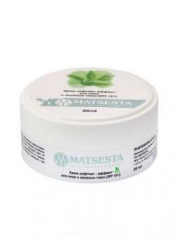 Мацеста - Крем лифтинг - эффект для лица с зеленым чаем (SPF 15+), 50мл