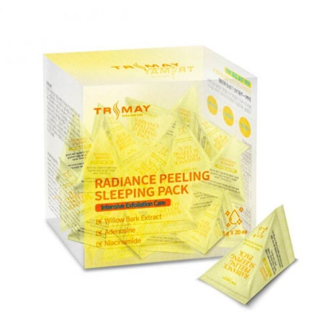 Ночная маска-пилинг для лица TRIMAY Radiance Peeling Sleeping Pack 3 гр
