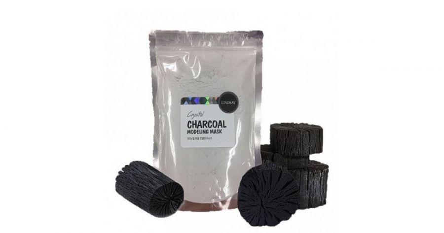 Альгинатная маска для лица с древесным углем Charcoal Modeling Mask, 240 гр
