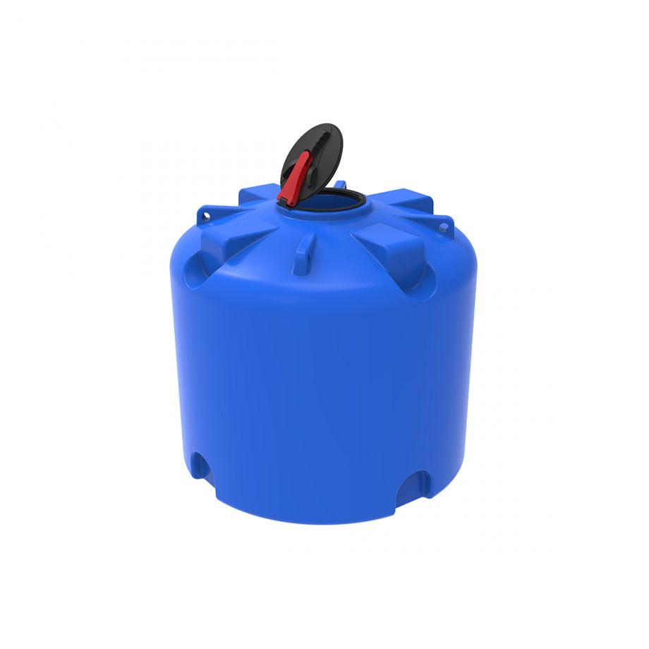 Емкость TR 3000 литров с откидной крышкой синий