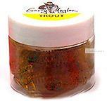 Мягкая приманка Garry Angler Larva 2'' Рыба 50 мм / 0,9 гр / упаковка 10 шт / цвет: Зеленый с блестками