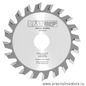 CMT 288.100.20H Диск пильный 100 x 20 x 3,1 - 4 / 2,5 5гр CO/5гр ATB Z20