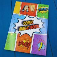 """Книга-комикс """"Comic Magic Book"""" - """"Книга для чтения мыслей"""" by MProps.ru"""