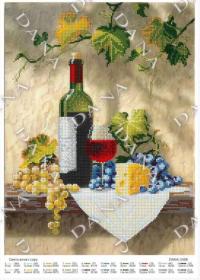 Dana DANA-3496 Праздник Вина и Сыра схема для вышивки бисером купить в магазине Золотая Игла