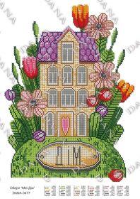 Dana DANA-3477 Оберег Мой Дом схема для вышивки бисером купить в магазине Золотая Игла