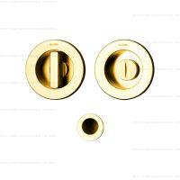 Olivari Dante D132 ручка для раздвижных дверей. золото матовое