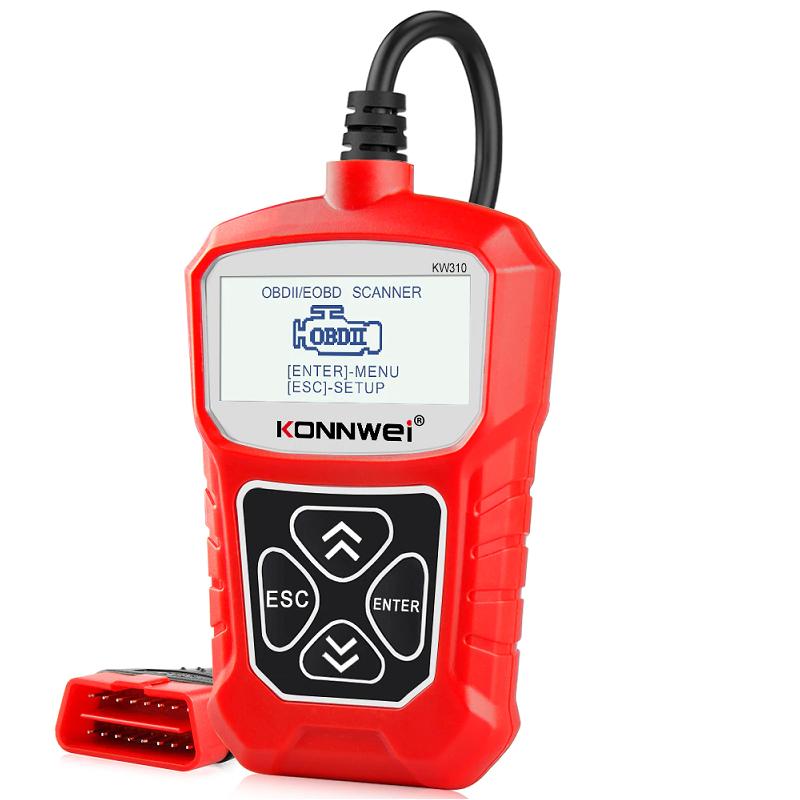 Сканер автомобильный OBD2 Elm327 (KONNWEI) KW310