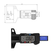 Цифровой измеритель глубины протектора IMEWE