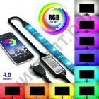 Светодиодная лента OG-LDL07 RGB SMD5050* 60шт Bluetooth 2м USB