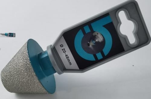 Алмазный конус для обработки отверстия края плитки BIHUI 20-48mm