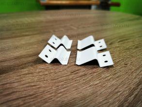 Комплект кронштейнов для крепления москитной сетки (метал.)