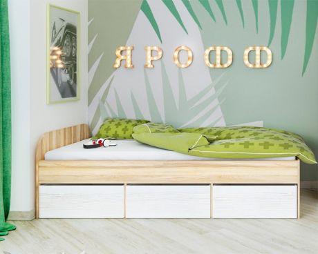 Кровать Ярофф односпальная без ящиков