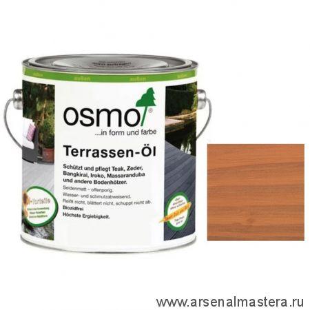 Масло для террас Osmo 004 Terrassen-Ole для дуглазии Натуральный тон 2,5 л