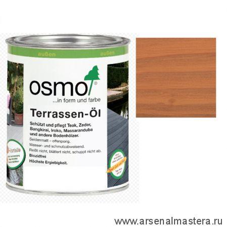 Масло для террас Osmo 004 Terrassen-Ole для дуглазии Натуральный тон 0,125л