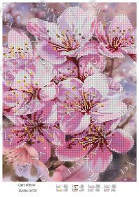 Dana DANA-3478 Цвет Яблони схема для вышивки бисером купить в магазине Золотая Игла