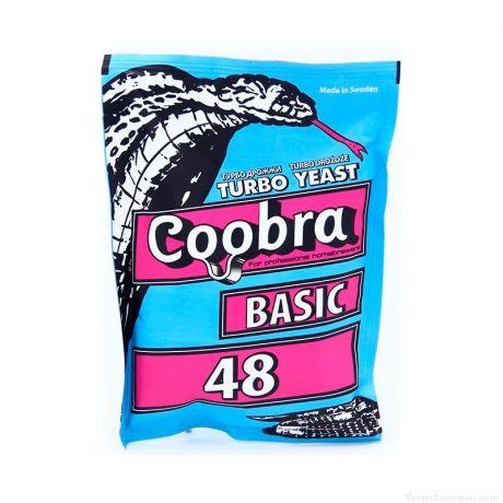 Спиртовые турбо дрожжи Coobra 48 Basic, 120 г