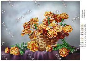Dana DANA-3508 Бархатцы схема для вышивки бисером купить в магазине Золотая Игла