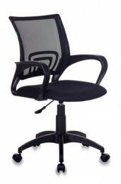 Кресло Бюрократ CH-695N/BLACK NLT спинка сетка черный TW-01 сиденье черный TW-11