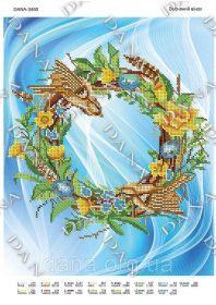 Dana DANA-3460 Весенний Венок схема для вышивки бисером купить в магазине Золотая Игла