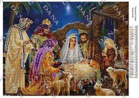 Dana DANA-3438 Таинство Рождества схема для вышивки бисером купить в магазине Золотая Игла