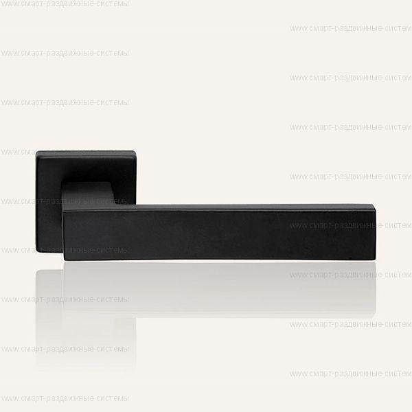 Ручка на розетке Linea Cali Corner Black 505 RO 024
