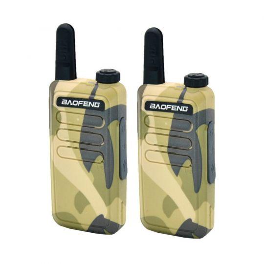 Радиостанция Baofeng BF-R5 комплект 2шт USB зарядка камуфляж