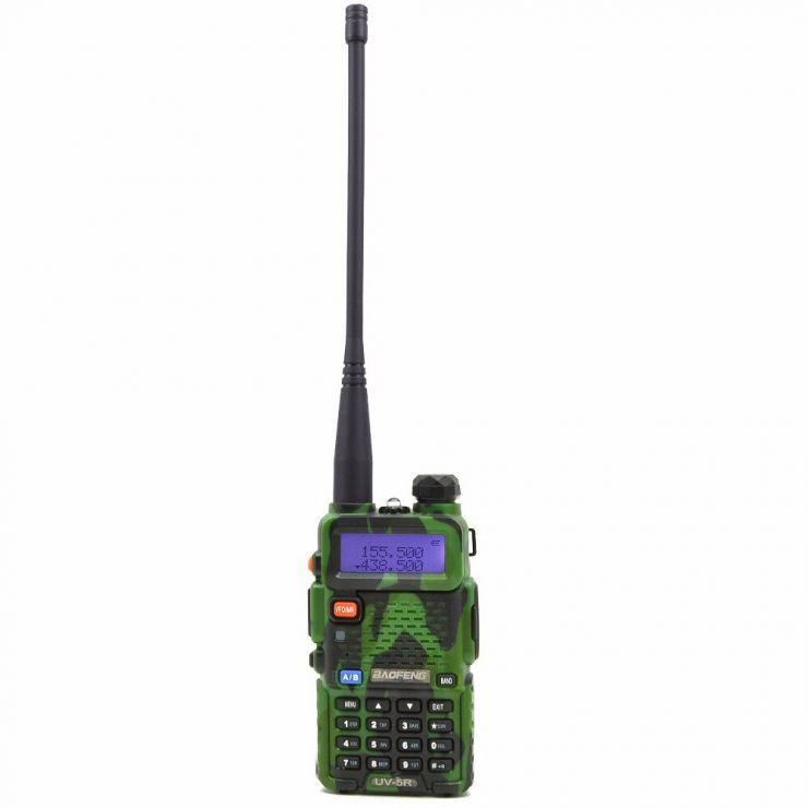 Радиостанция Baofeng UV-5R камуфляжная 7 км
