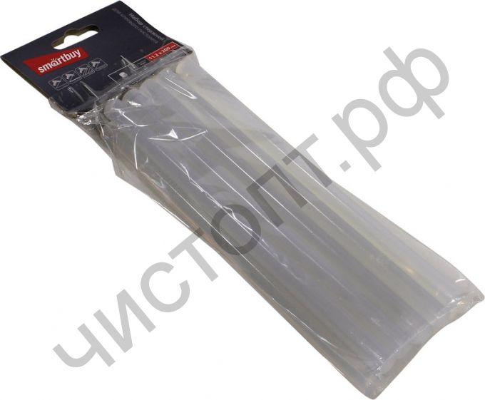 Термоклей стержни для кл. пистолета D=11.2мм x 200мм, EVA, прозр., 10 шт,Smartbuy tools(SBT-GGG-10)