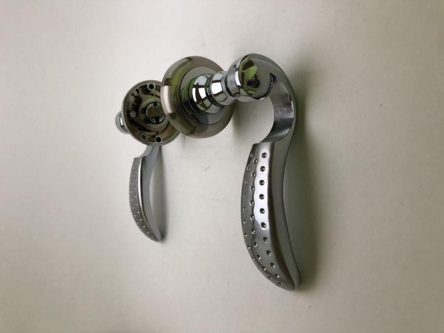Комплект дверных ручек Оберег AL061