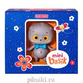 "Мини Басик игрушка + 5 предметов одежды ""Яркие краски"""