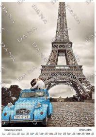 Dana DANA-3415 Парижские Истории схема для вышивки бисером купить в магазине Золотая Игла