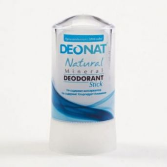 Дезодорант кристалл ДеоНат 60 гр/ стик чистый