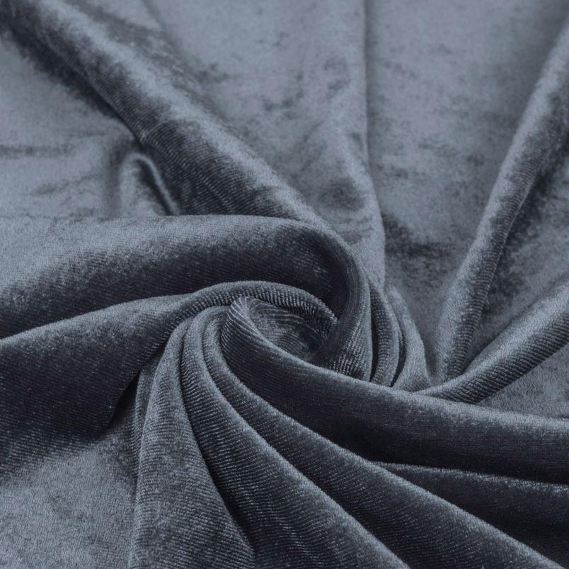 Бархат стрейч - Благородный серый 50х40