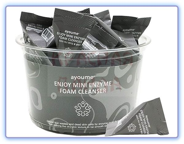 Пенка для умывания с энзимами Ayoume Enjoy Mini Enzyme Foam Cleanser