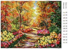Dana DANA-3403 Осень в Лесу схема для вышивки бисером купить в магазине Золотая Игла