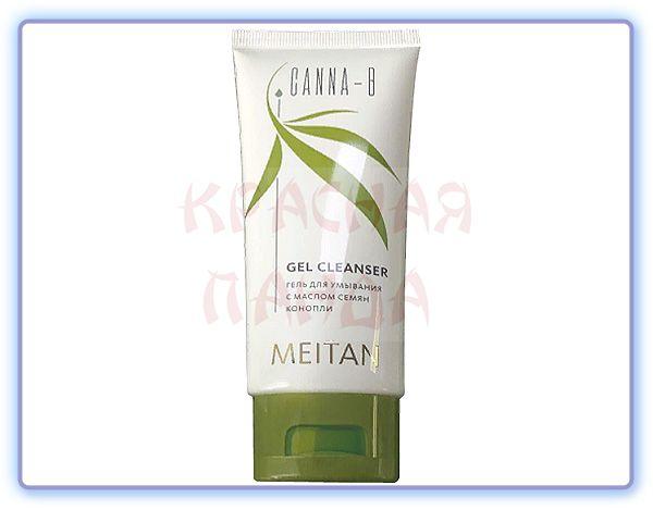 Canna-B Гель для умывания с маслом семян конопли МейТан