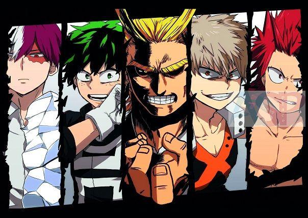 Плакат My Hero Academia