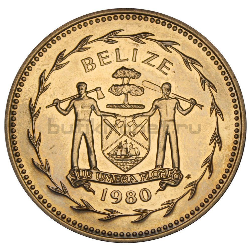 5 долларов 1980 Белиз
