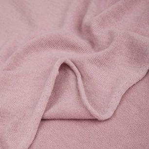 Трикотаж вязаный -  Пыльная роза 50х37