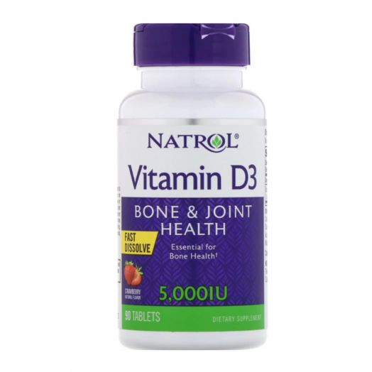 Natrol - Vitamin D3 5000 МЕ