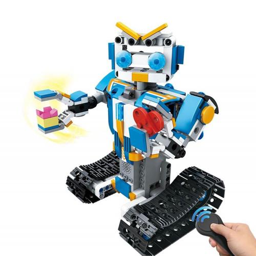 Конструктор - робот на гусеницах Mould King 13004 (349 деталей)