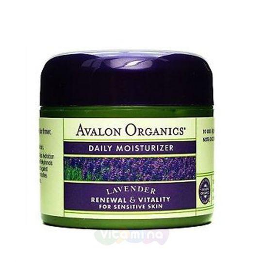Avalon Organics Дневной увлажняющий крем с лавандой, 57 гр
