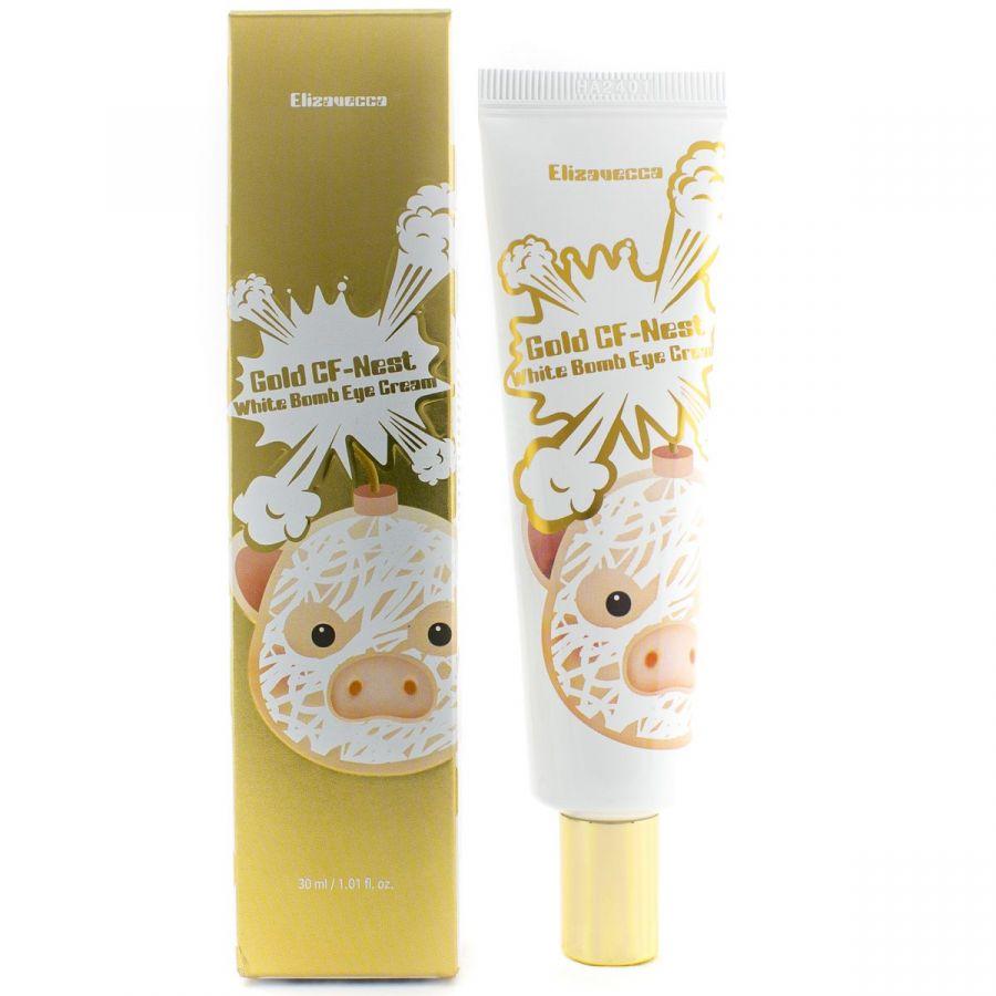Крем для кожи вокруг глаз с экстрактом ласточкиного гнезда Elizavecca Gold CF-Nest White Bomb Eye Cream 30 мл